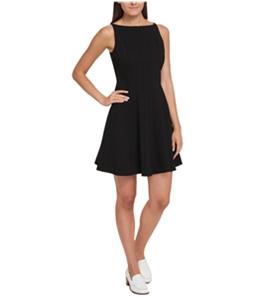 Tommy Hilfiger Womens Fit Flare A-line Dress