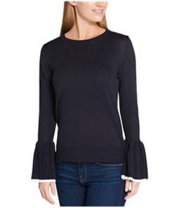 Tommy Hilfiger Womens Tipped Bell Knit Sweater
