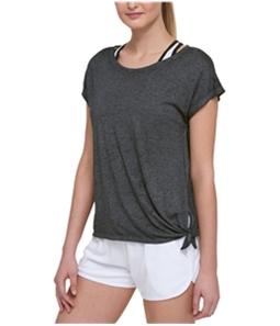 Tommy Hilfiger Womens Side Slit Basic T-Shirt