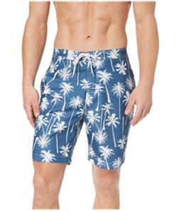 Trunks Mens Coconut Tree Swim Bottom Board Shorts