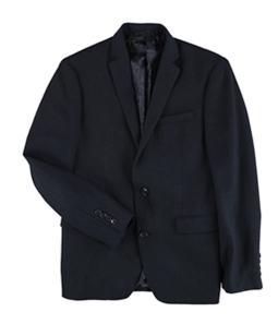 bar III Mens Slim-Fit Neat Knit Two Button Blazer Jacket
