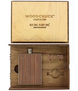 Woodchuck Unisex 2-Piece Drinking Flask