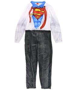 Superman Mens Jumpsuit Complete Costume