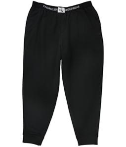 Calvin Klein Mens Logo Waistband Pajama Sweatpants