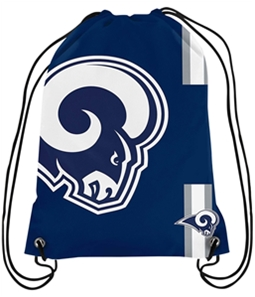 Forever Collectibles Mens LA Rams Drawstring Standard Backpack