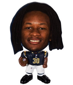 Forever Collectibles Unisex Todd Gurley Flat Head Souvenir