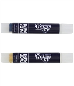 Worthy Promotional Products Unisex LA Rams Face Paint Souvenir