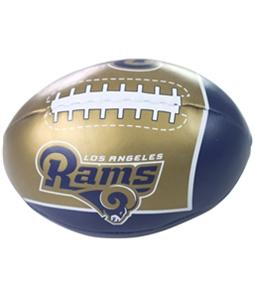 NFL Team Apparel Unisex LA Rams Quick Toss Soft Football Souvenir