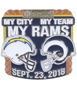 WinCraft Unisex My Team My Rams Pin Brooche