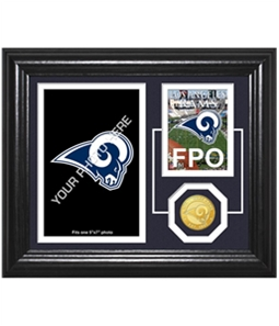 Highland Mint Unisex LA Rams Framed Photo Souvenir