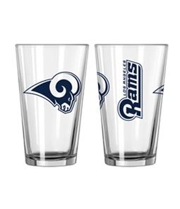Boelter Brands Unisex LA Rams 16oz Pint Glass Souvenir