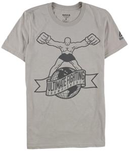 Reebok Mens Ultimate Fighting Graphic T-Shirt