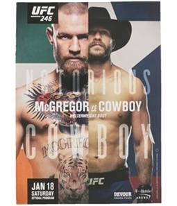 UFC Unisex 246 & 247 Official Program