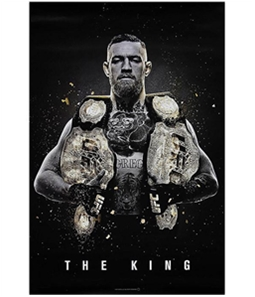 UFC Unisex The King Conor McGregor Official Poster