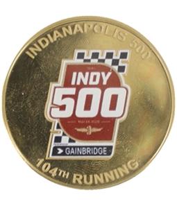 Highland Mint Unisex Indy 500 104th Running Souvenir Mint Coin