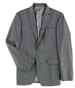 bar III Mens Pindot Two Button Blazer Jacket