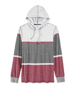 Univibe Mens Gaston Colorblock Hoodie Sweatshirt
