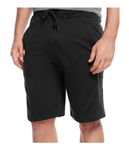 Univibe Mens Quilted Panel Athletic Sweat Shorts