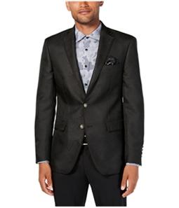 Tallia Mens Geometric Two Button Blazer Jacket