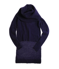 W118 Womens Turtleneck Cable Knit Sweater