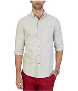 Nautica Mens Anson Textured Button Up Shirt