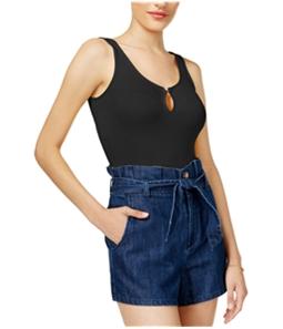 GUESS Womens Palmer Keyhole Bodysuit Jumpsuit Pajama