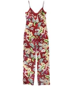 GUESS Womens Floral Jumpsuit