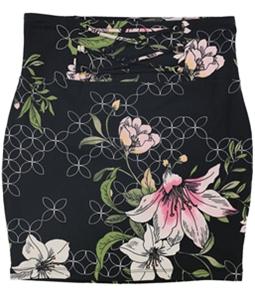 GUESS Womens Lace up Mini Skirt