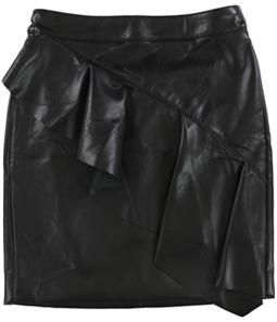 GUESS Womens Lexie Flounce Mini Skirt