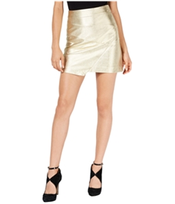 GUESS Womens Metallic Asymmetrical Skirt