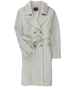 GUESS Womens Bralee Wool Trench Coat