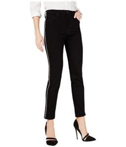 Hudson Womens Metallic Stripe Skinny Fit Jeans