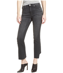 Hudson Womens Holly High Waist Flare Cropped Jeans