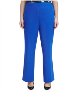 Calvin Klein Womens Solid Casual Trouser Pants