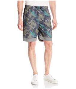 UnionBay Mens Vintage Palm Swim Bottom Board Shorts