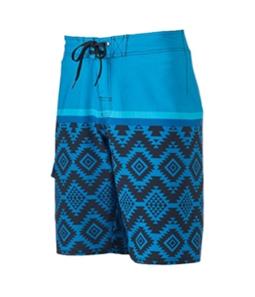 Hang Ten Mens Black Floral Swim Bottom Board Shorts