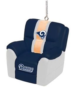 Forever Collectibles Unisex LA Rams Chair Ornament Souvenir