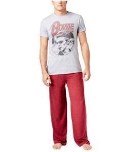 Bowie Mens Pink Floyd Pajama Set