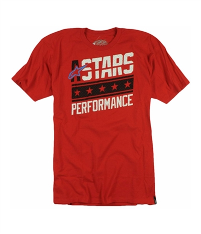 Stars Mens Performance Graphic T-Shirt