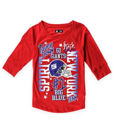 Justice Girls Ny Giants Spirit Graphic T-Shirt