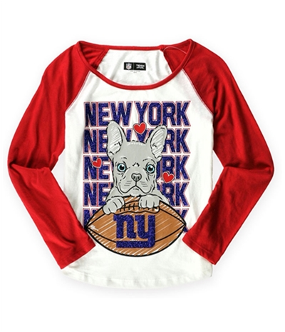 Justice Girls New York Giants Graphic T-Shirt