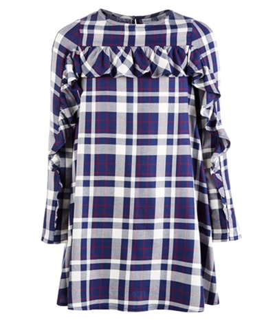 Epic Threads Girls Ruffle Trim Shift Dress