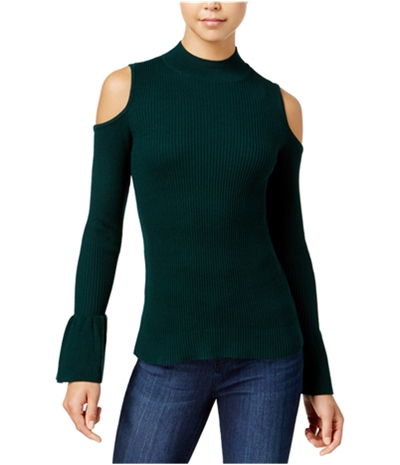 Bcx Womens Cold-Shoulder Pullover Sweater