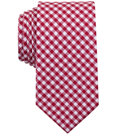 Bar Iii Mens Troy Checked Self-Tied Necktie