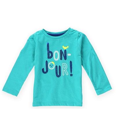 Gymboree Girls Bon Jour Embellished T-Shirt