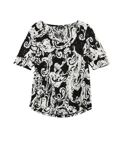 Ralph Lauren Womens Knit Pullover Blouse