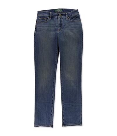 Ralph Lauren Womens Strech Modern Curvy Straight Leg Jeans