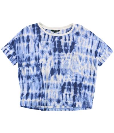 Ralph Lauren Womens Tie Dye Basic T-Shirt