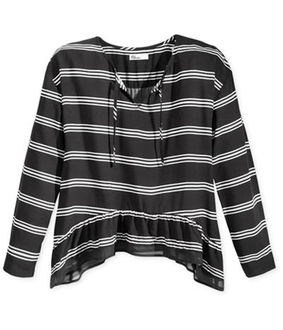 Epic Threads Girls Ruffled Handkerchief-Hem Graphic T-Shirt