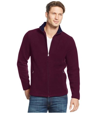 Club Room Mens Fz Fleece Jacket